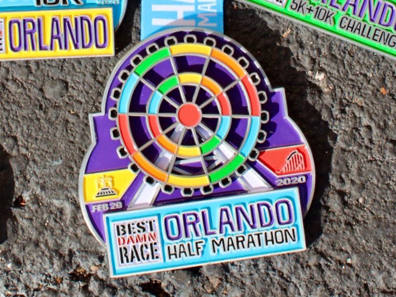 Left Over 5K Medal